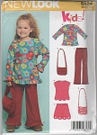 SIMPLICITY NEW LOOK ~GIRLS WARDROBE~SZ3-8