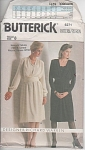 Click here to enlarge image and see more about item 6271:  A-Line DRESS CUMMERBUND~SIZE 8~Pattern 6271