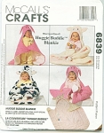 Click here to enlarge image and see more about item 6839: McCALLS HUGGIE BUDDIE BLANKIE FOR BABY