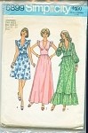 Click here to enlarge image and see more about item 6899P: VINTAGE SIMPLICITY DRESS 6899