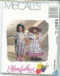 McCALLS PATTERN  MOUSE FEATHERS SZ 2,3,4