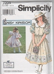 SIMPLICITY~DAISY KINGDOM~DRESS~SIZES 5-8~