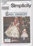 Click to view larger image of DAISY KINGDOM~Sz 5-6-7-8~7282~NEW~GIRL-DOLL (Image1)