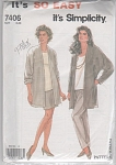 VINTAGE~SO-EASY~3 PC SEPARATES~MULTI~SZ 8-20