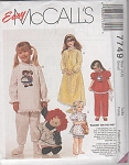 Click to view larger image of OOP~RAGGEDY ANN~NIGHTIE~ PJ'S~UNCUT~OOP (Image1)
