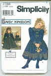 SIMPLICITY DAISY KINGDOM PATTERN FREE SHIP