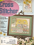 Click here to enlarge image and see more about item 7835F: Cross Stitcher magazine -[ August 1995