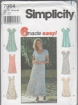 SIMPLICI 7964~MISSES~12-14-16~6 DRESS STYLES~