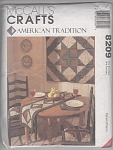 Click here to enlarge image and see more about item 8209C: MCCALL~CRAFTS~AMERICAN TRADITION~8209 UNCUT