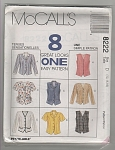 VINTAGE~McCall's ~SZ12-16~8 GREAT LOOKS-OOP