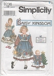 DAISY KINGDOM~BONUS DOLL DRESS~SZ 5-8~OOP