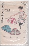 VINTAGE BUTTERICK APRON~PATTERNS ~1957