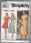 SIMPLICITY~8345~EASY SEW DRESS~OOP~SZ6-10