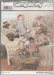 Click to view larger image of VINTAGE~OOP~22�; - 14�IN  RAG DOLLS~PATTERN (Image1)