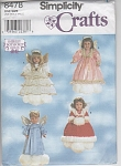 Click here to enlarge image and see more about item 8478: ANGEL OUTFITS~AMERICAN GIRL DOLL~18IN~OOP~UNC