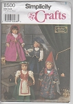 Click here to enlarge image and see more about item 8500A: American Girl~Doll~DESIGNS~RENAISSANCE~18 IN