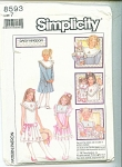 SIMPLICITY DAISY KINGDOM DRESS PATTERN
