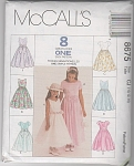 Girls Special Occasion Dress~SZ 10-14~McCALL