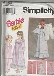 VINTAGE~BARBIE AND YOU~NIGHTIES~SZ5-6X~OOP
