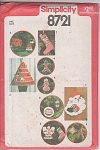 Click here to enlarge image and see more about item 8721: VINTAGE~VARIOUS ~CHRISTMAS ORNAMENTS~OOP