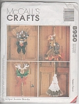 Click here to enlarge image and see more about item 8950: McCalls PATTERN SEASONAL BROOM DOLLS~UNCUT