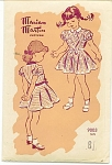Click to view larger image of VINTAGE~EXCLUSIVE~ MARIAN MARTIN~Girl Dress 8 (Image1)