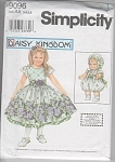 Daisy Kingdom~Dress Pattern 9096~sz3-~w/Doll