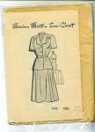 VINTAGE~MARIAN MARTIN 2 PC~DRESS PATTERN~SZ36