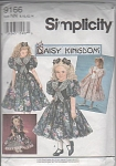 VINTAGE~DAISY KINGDOM~GIRLS/DOLL DRESS PATERN