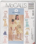 Click here to enlarge image and see more about item 9186: McCall's~8 IN 1~Girls ALL OCCASION~Dress~SZ10