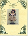 Click here to enlarge image and see more about item 918: JUBILEE MOLD 26 IN DOLL OUTFIT
