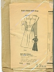VINTAGE MARIAN MARTIN DRESS PATTERN~SZ 16-34