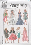 Click here to enlarge image and see more about item 9334-A: VINTAGE~BARBIE PATTERN~11-1/2 IN FASHION DOLL