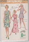 Click here to enlarge image and see more about item 9359:  VINTAGE~SIMPLICITY~JIFFY~TUNIC~SHORT~MINI
