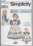 SIMPLICITY GIRL PATTERN DAISY KINGDOM~SZ 5-8