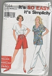 SIMPLICITY~SZ~A~X S-XL~PANTS~SHORTS~TOP~OOP