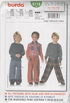 Click here to enlarge image and see more about item 9719: Burda Pattern~ 9719~Size 3-8 Boys' PANTS