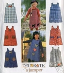 9734 CHILDS~ DECORATE A JUMPER~SZ 5-8