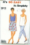 Click to view larger image of SIMPLICITY 9819  LADIES 10-20 (Image1)