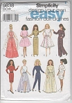 Click here to enlarge image and see more about item 9838: Barbie Design Your Own Easy Wardrobe~UNCUT