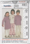 Click here to enlarge image and see more about item 9867: BURDA~GIRLS~DRESS~TOPS~PANTS~SZ2-6 UNCUT