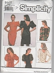 SIMPLICITY RETRO DRESS~PATTERN 9911-SIZE 6-14