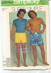 Click to view larger image of VINTAGE~1972~MENS~HIP HUGGER~SHORT SHORTS~MED (Image1)