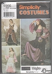 Click here to enlarge image and see more about item 9966: RENAISSANCE OUTFITS~SZ14-20~UNCUT~SIMPLICITY