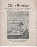 VINTAGE~CHINA PAINTING~BOOK~EMMA MUSSELMAN