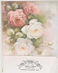 Click here to enlarge image and see more about item AMES02: VINTAGE~SONIE AMES~ROSES~1964~OOP