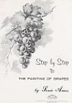 Click here to enlarge image and see more about item AMESGRAPES: STEP BY STEP GRAPES~SONIE AMES~1967~6PGS~OOP