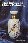 Click here to enlarge image and see more about item ART1A: VINTAGE~CHINA PAINTING~BILL THOMPSON~OOP