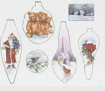 Click here to enlarge image and see more about item ASH06: MARY ASHCROFT~CHRISTMAS ORNAMENTS~STUDY