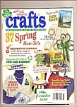 Click here to enlarge image and see more about item B0042: Crafts magazine -  March 1994